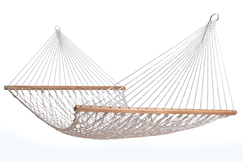 Corda rope hammock large hamaca hammocks for Rope hammock plans